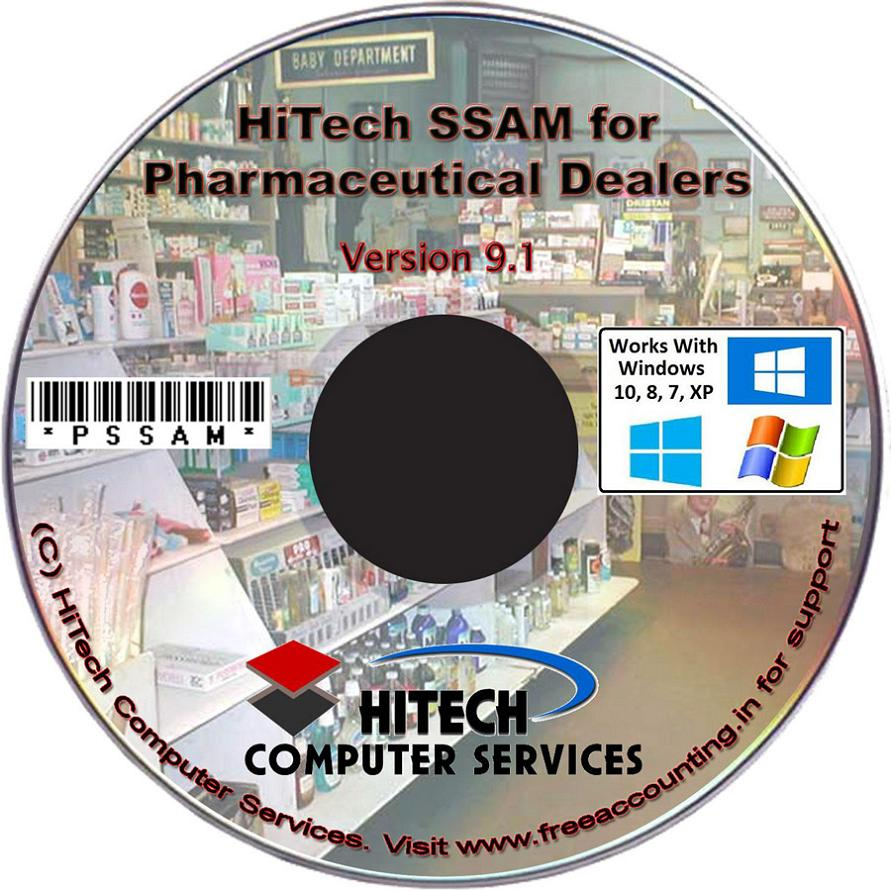 Medical Store Accounting Software CD